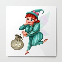 The Cruddy Fairies - Lola Metal Print