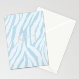 N°1 Blue  Stationery Cards