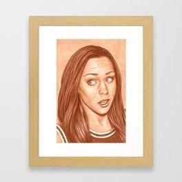 Come again! Framed Art Print