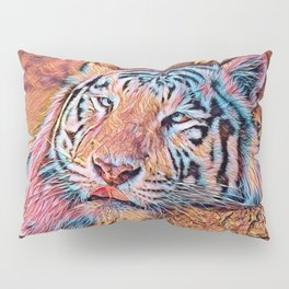AnimalMix_Tiger_019_by_JAMColors Pillow Sham
