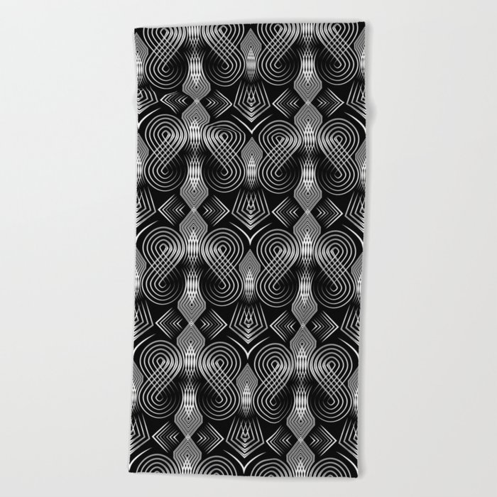 Art Deco. Diva 27 . Beach Towel