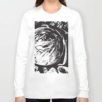 glasses Long Sleeve T-shirts featuring Glasses by Stacy Nguyen