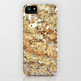Kashmir Gold Granite iPhone Case