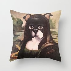 Doga Lisa Throw Pillow