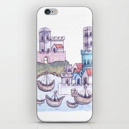 Imaginative journeying iPhone Skin