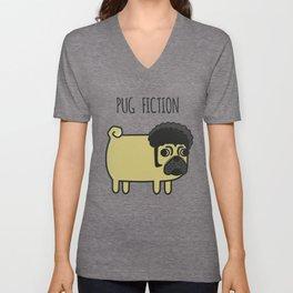 6# PUG FICTION Unisex V-Neck