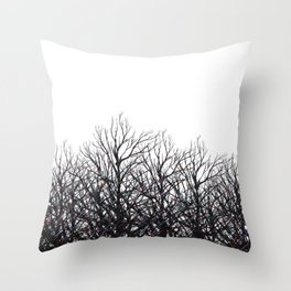 Tree Beams Throw Pillow