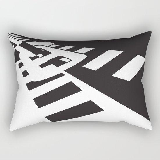 Zip Me, Please! Rectangular Pillow