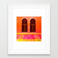 morocco Framed Art Prints featuring Morocco  by Xchange Art Studio