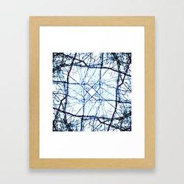 Kaleidoscope -Trees Framed Art Print