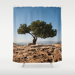 Atop Arbel Shower Curtain