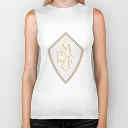 Madrid Blanco Badge Biker Tank