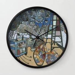 Studio Tongue Wall Clock
