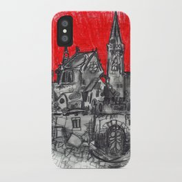 1991 - Imaginary French Village (High Res) iPhone Case