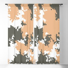 Camouflage mountain 1 Blackout Curtain