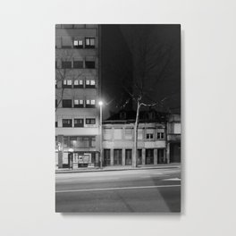 Quiet Evening Street Metal Print