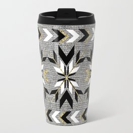 The Remix - Art Deco Fair Isle Travel Mug