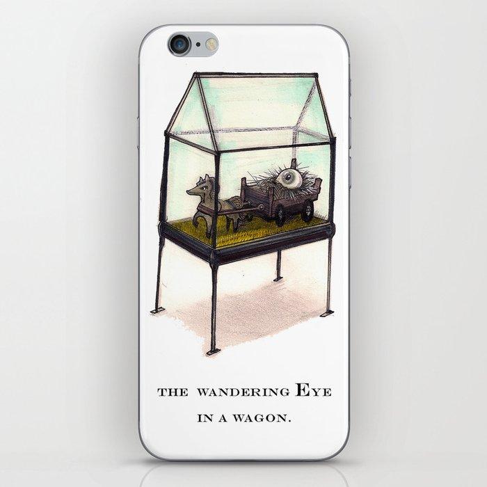the wandering Eye in a wagon iPhone Skin