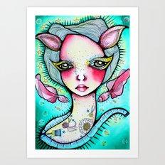 Crafterella Art Print