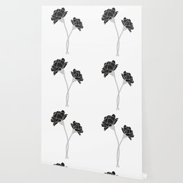 Flower Stems Wallpaper
