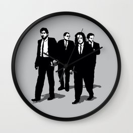 Groomsmen Wall Clock