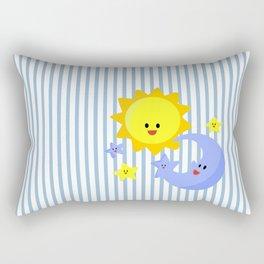 good morning, good night Rectangular Pillow