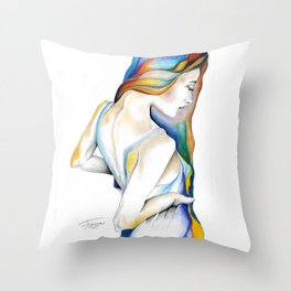 Rebirth by J Namerow Throw Pillow