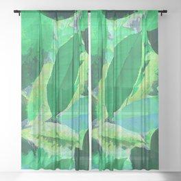 Leaf Sheer Curtain