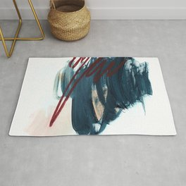 Blue and Red 2 Rug