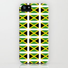 Flag of Jamaica 2-Jamaican,Bob Marley,Reggae,rastafari,cannabis,ganja,america,south america,ragga iPhone Case