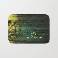 Johann Sebastian Bach Bath Mat