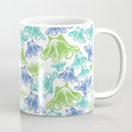 Octopus Print Coffee Mug