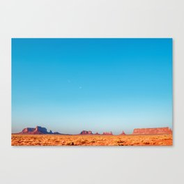 The Gathering - Monument Valley Canvas Print