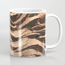 Macro Copper Abstract Coffee Mug