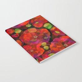 Poppy field #2 Notebook