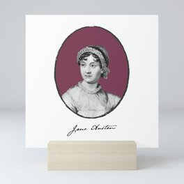 Authors - Jane Austen Mini Art Print
