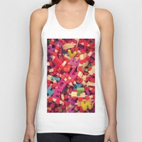 wooden Tank Tops featuring wooden toy by gzm_guvenc