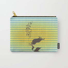 Black Mermaid Carry-All Pouch