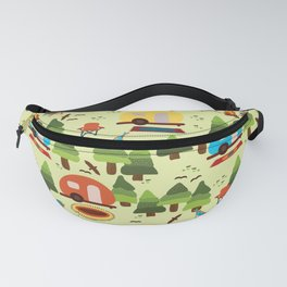 Caravan Campground Vacation Fanny Pack