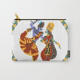 Shiva Parvati Pixel Art Carry-All Pouch