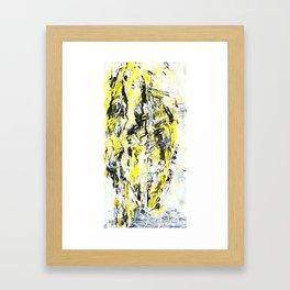 Mirrorface Framed Art Print