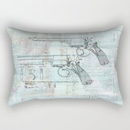 Beaumont Revolver  Rectangular Pillow