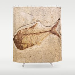 Old Bones Shower Curtain