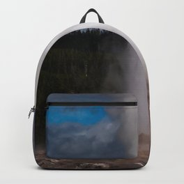 Old Faithful Letting off Steam Backpack