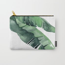 Tropical Island Leaves Pair Carry-All Pouch