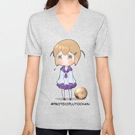Pluto-chan PROTECC Unisex V-Neck