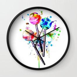 Lollipops Wall Clock