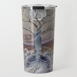 winter in the garden of eden Travel Mug