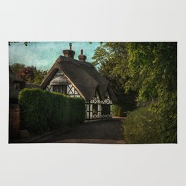 A Berkshire Half Timbered Cottage Rug