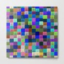 Neon Pixelated Patchwork by raylie